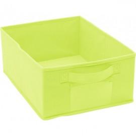 Cutie Depozitare - Pliabila - Textil - Verde Deschis
