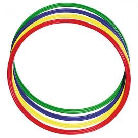 Set 4 Cercuri Hula Hopp 44 Cm imagine