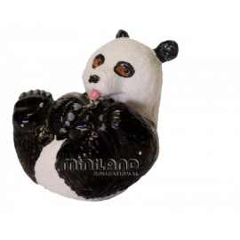 Figurina Pui de Urs Panda Miniland Educational