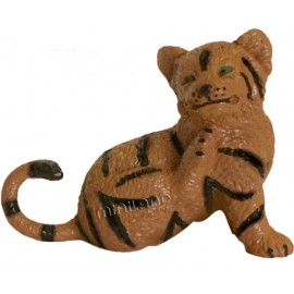 Figurina Pui de Tigru sezand Miniland Educational