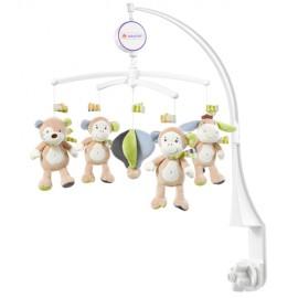 Carusel muzical mobil- maimutica vernil