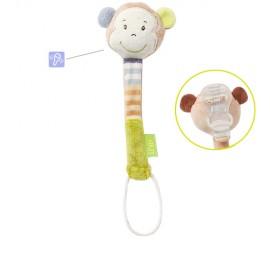 Suport jucarie pentru suzeta- maimutica