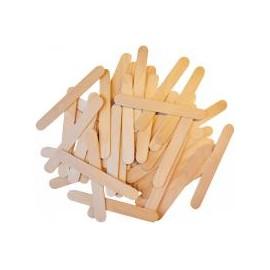 Set 100 spatule lemn