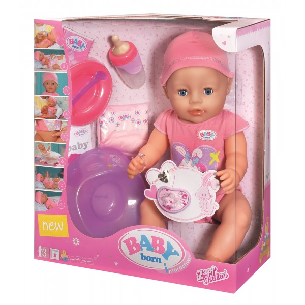 Papusa Baby Born Cu Olita Papusa Baby Born Interactiva