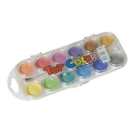 Acuarele culori perlate 12