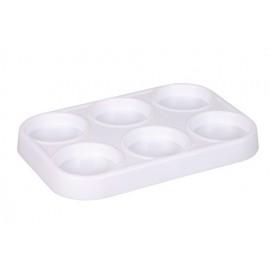 Suport plastic pentru 6 pastile tempera