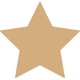Set 6 stele din lemn de decorat