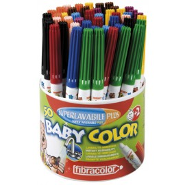 Set 50 markere superlavabile pentru copii mici