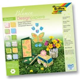 Carton Designer Flori 190g 30,5x30,5cm