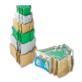 Set de 6 cutii colorate Bradut