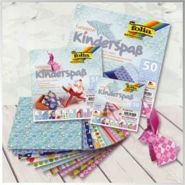 Harie Origami Kids 50 Coli De 20 X 20 Cm imagine