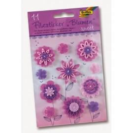 Set 11 flori fetru Sweet