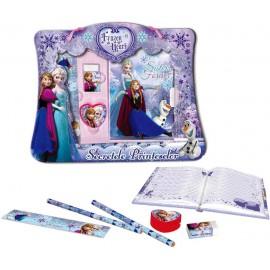Jurnal cu lacat si accesorii Daco Frozen