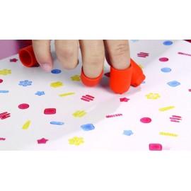 Set 24 stampile degetar