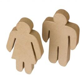 Figurine din carton presat