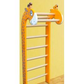 Spalier gimnastica Girafa pentru copii