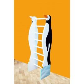 Spalier gimnastica Pinguin pentru copii