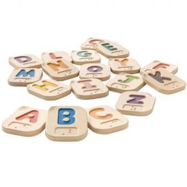 Litere Alfabet din lemn