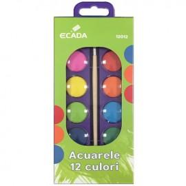 Acuarele 12 culori - Ecada