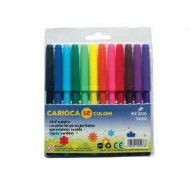 Carioca 12 culori Ecada