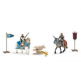 Figurine schleich set cavaleri 42220