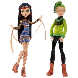 Cleo De Nile Si Deuce - Monster High Boo York