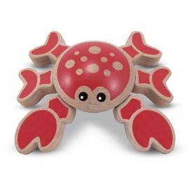 Jucarie bebe Crabul jucaus