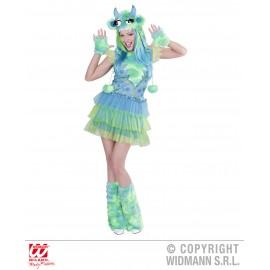 Costum monstru verde Marime S
