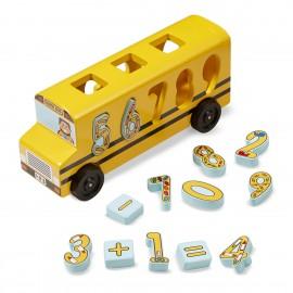 Autobuzul Cu Numere imagine