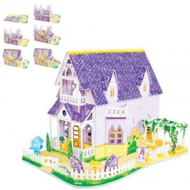 Puzzle 3D Casuta papusilor
