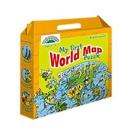 Puzzle Galt - Harta lumii / World Map