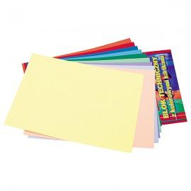 Bloc Carton A4 10 File Colorate 150 Gr imagine