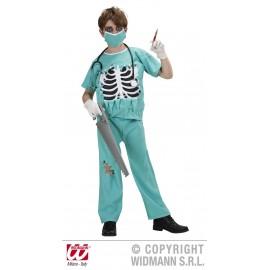 Costum chirurg zombie - marimea 140 cm