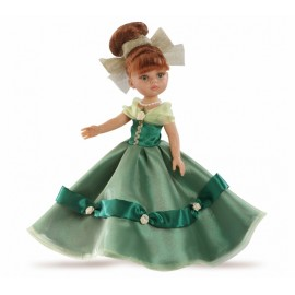 Papusa Cristi printesa in rochie verde - Paola Reina
