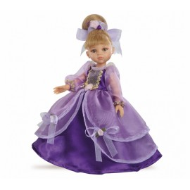 Papusa Carla printesa in rochie violet - Paola Reina