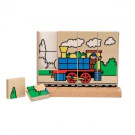 Puzzle vertical Trenul