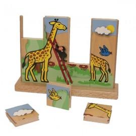 Puzzle vertical Girafa