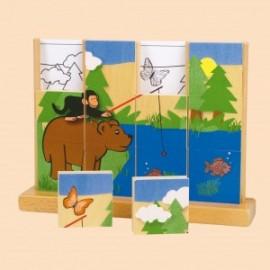 Puzzle vertical Ursul