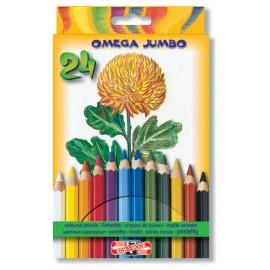Set 24 Creioane Omega Jumbo