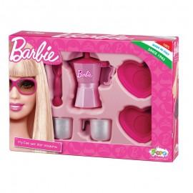Set cafea doua persoane Barbie Faro