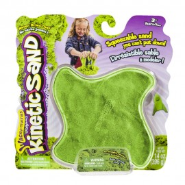 Nisip Kinetic Colorat - Verde 397 g - Kinetic Sand