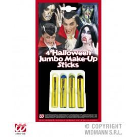 Set creioane machiaj halloween