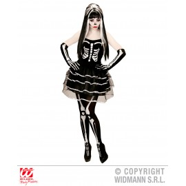 Costum adulti Schelet - Marime M