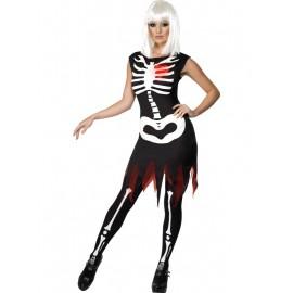 Costum skeleton girl