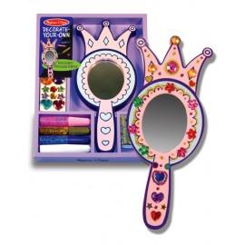 Melissa & Doug - Decorati-va oglinda de printesa