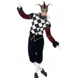 Costum Arlechin Venetian - Marime M