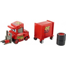Disney Cars 2 - My Name is Not Chuck with Cart