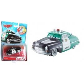 Disney Cars 2 - Sheriff care isi schimba culoarea