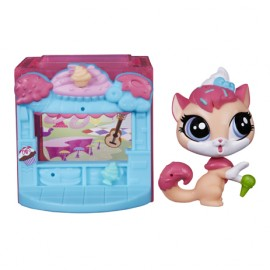 Set littlest pet shop mini style hasbro b0092