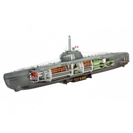 5078 deutsches uboot typ xxi mit interieur
